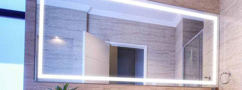 Turbo Teck LED Bathroom Mirror